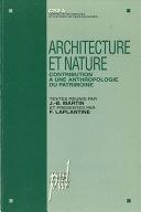 Pdf Architecture et nature