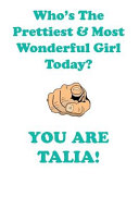 Pdf TALIA is The Prettiest Affirmations Workbook Positive Affirmations Workbook Includes