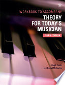 Theory for Today s Musician Workbook