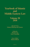 Yearbook Of Islamic And Middle Eastern Law Volume 20 2018