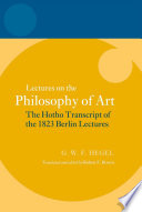 Lectures on the Philosophy of Art