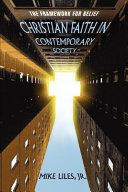 Christian Faith in Contemporary Society
