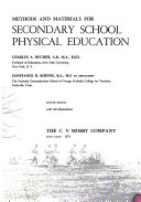 Methods and Materials for Secondary School Physical Education