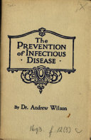 The Prevention of Infectious Disease