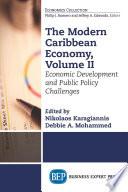 The Modern Caribbean Economy  Volume II