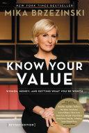 Knowing Your Value Pdf/ePub eBook