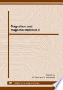 Magnetism And Magnetic Materials V Book PDF