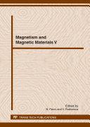 Magnetism and Magnetic Materials V
