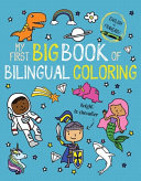 My First Big Book of Bilingual Coloring French Book