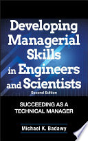 Developing Managerial Skills in Engineers and Scientists