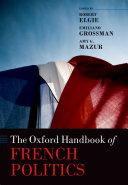 The Oxford Handbook of French Politics Pdf/ePub eBook
