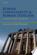 Roman Christianity and Roman Stoicism