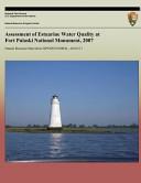 Assessment of Estuarine Water Quality at Fort Pulaski National Monument  2007