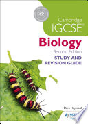 Cambridge Igcse Biology Study and Revision Guide