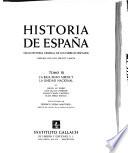 La Baja Edad Media y in unidad nacional, por J. M. Rubio et al