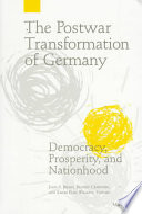 The Postwar Transformation of Germany Book