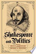 Shakespeare and Politics Book