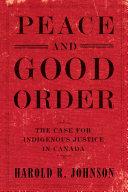 Peace and Good Order Pdf/ePub eBook