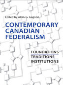 Pdf Contemporary Canadian Federalism Telecharger