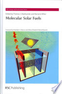 Molecular Solar Fuels Book