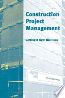 Construction Project Management Book PDF