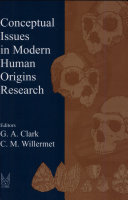 Pdf Conceptual Issues in Modern Human Origins Research Telecharger