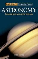 Barron s Pocket Factbook  Astronomy