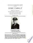 Genealogical and Biographical History of the King Family