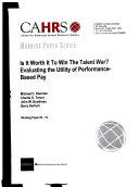 Is it Worth it to Win the Talent War
