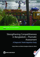 Strengthening Competitiveness In Bangladesh Thematic Assessment