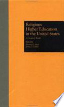 Religious Higher Education in the United States