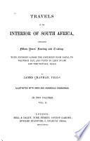 Travels In The Interior Of South Africa Book