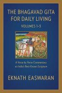 The Bhagavad Gita for Daily Living Pdf