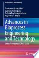 Advances in Bioprocess Engineering and Technology Book