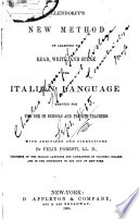 New Method of Learning Italian