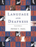 Language and Deafness