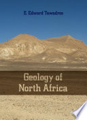 Geology of North Africa Book