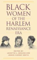Black Women of the Harlem Renaissance Era