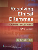 Resolving Ethical Dilemmas