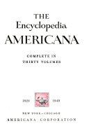 The Encyclopedia Americana Book