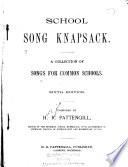 School Song Knapsack