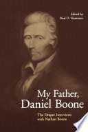 My Father, Daniel Boone