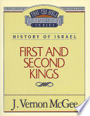 Thru The Bible Vol 13 History Of Israel 1 And 2 Kings