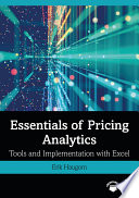 Essentials of Pricing Analytics Book