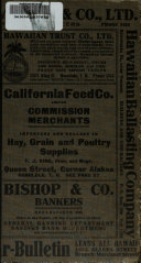 Polk Husted Directory Co  s Directory of Honolulu and the Territory of Hawaii