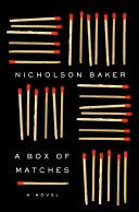 A Box of Matches Pdf/ePub eBook