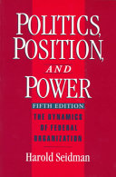 Politics, Position, and Power