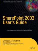 SharePoint 2003 User's Guide Pdf/ePub eBook