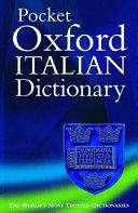 The Pocket Oxford Italian Dictionary