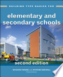 Building Type Basics For Elementary And Secondary Schools Book PDF